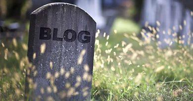 Este blog está com os dias contados